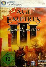 AGE of EMPIRES III - the ASIAN DYNASTIES, Spiel für PC / Windows im TOP-ZUSTAND