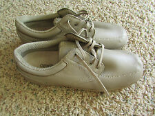 ORTHOFEET LOAFERS SHOES WOMENS 11 ORTHODIC TAN LEATHER DIABETIC SHOES