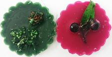 2 Scented Melts Winter Berry & Winter Pine Fragrance Wax Oil Burners Gift Tart