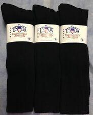 4dfcbeca367 3pr Men s US Army Military Issue Anti-Fungal OTC Boot Socks BLACK 10-13
