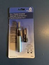 Screwdriver Set - All In One - Precision - 8 In 1 - New - Helping Hand Tool