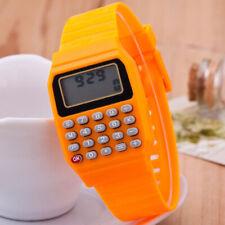 Children Wrist Watch Calculator School Date/Time Sports Electronic Watches