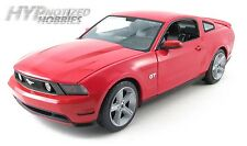 GREENLIGHT 1:18 2010 FORD MUSTANG GT DIE-CAST RED 12813