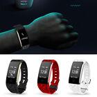 Heart Rate +Sports Activity Sleep Tracker Fitness Pedometer Bracelet Smart Watch