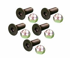 5 Caterpillar Style Skid Steer Cutting Edge Bolts W Nuts 159 2953 8t 4778
