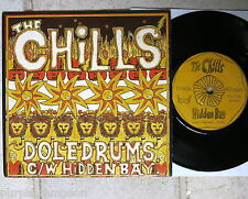 """Chills-doledrums 7"""" single Flying ora Cold 003 New Zealand"""