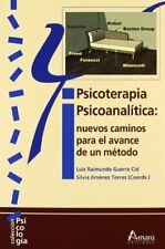Psicoterapia psicoanalitica (Psicologia (amaru))