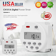 Cn101a Digital Power Timer 7 Day Programmable Time Switch Controller Relay Us