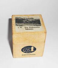 Alter Rollfilm Diafilm  L71 Die Sächsische Schweiz E.W.Dia DDR !