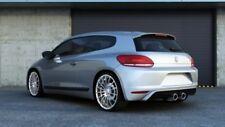 REAR VALANCE VW SCIROCCO MK3 STANDARD (R LOOK) 2 EXHAUST HOLES (2008-2014)