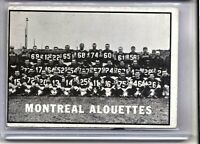 1961 Topps CFL #73 Montreal Alouettes Canadian Football RARE 💲🏈 CSV