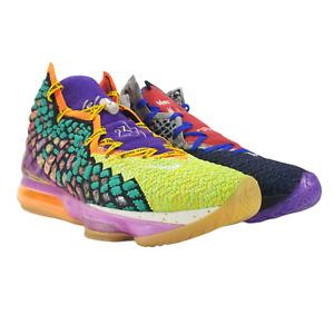 "Nike Lebron 17 XVII WTW ""What The"" Multi-Color CV8079-900"
