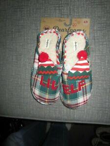 Dearfoams Girls Kids Slippers Size 4/5