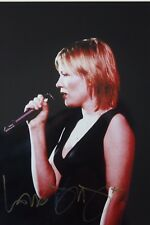 DIDO original hand signed mounted photo 10.5 x 8 inches by Mel Longhurst