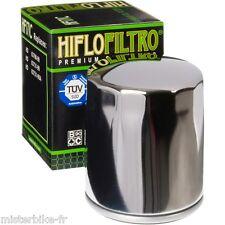Filtre à huile Hiflofiltro HF171C  Chromé  Harley Davidson 1450  1600 1690 1800