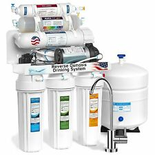 Express Water Reverse Osmosis Alkaline Filter System with Booster Pump 100-GPD