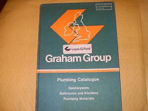 Graham Group - Plumbing Catalogue 1979 - As Photo's