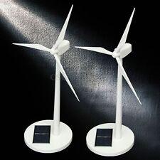 New Science Toy Desktop Model-Solar Powered Windmills/Wind Turbine Decoration