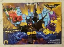 New McDonald's The Lego Batman Movie Happy Meal Toy 2017 Jigsaw Puzzle Batgirl