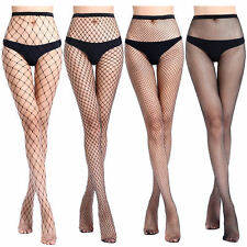 Women's Fishnet Stockings Sexy Tights Long Socks Thigh High Pantyhose Lingerie