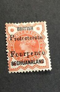 Bechuanaland 1889 SG 53 Scott 68 Mint  Hinged