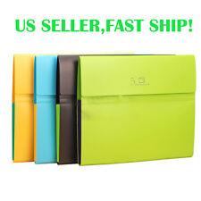 5-Pocket Exanding File Folder Document Tab Holder Cover Organizer Letter Size