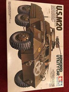 US M20 Armored Utility Car 1:3 5 Plastic Scale Model Kit 35234 Tamiya