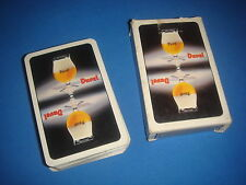 ANCIEN JEU DE 54 CARTES DUVEL biere belge bar bistrot belote collection vintage