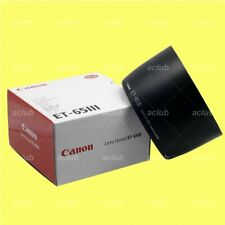 Genuine Canon ET-65III Lens Hood for EF 85mm f/1.8 USM 100mm f/2 USM 135mm f/2.8