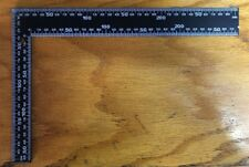 STEEL SQUARE RIGHT ANGLE STRAIGHT EDGE L RULER 30CM*20CM