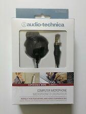 Audio Technica ATR4600 computer PC Microphone Condenser Mic 3.5 plug Jack mike