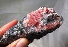 Sweet Home Rhodochrosite on matrix - mine run specimen - Alma, Colorado