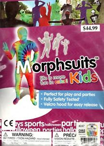 Rainbow Peace Morphsuits Kids M 3`5``- 4`5``