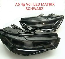 Orig Audi A6 4G Rs6 Scheinwerfer VOLL LED Matrix Schwarz