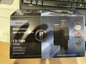 Bushnell 4.5 x 40 mm Night vision Equinox Z scope monocular new in the box
