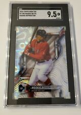 MOOKIE BETTS 2018 TOPPS High Tek Magma DIFFRACTOR #HT-MB SGC 9.5 DODGERS Red Sox