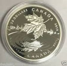 TEN Pcs Canada 1oz Maple Leaf Clear Plastic Coin Capsules 38mm Storage Holder