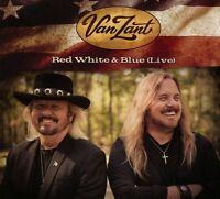 VAN ZANT - RED WHITE & BLUE (LIVE) DIGIPACKPAK  CD NEU