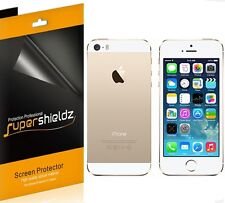 Supershieldz 3 Front & 3 Back Anti Glare (Matte) Screen Protector For iPhone 5S