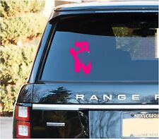 Ballet Dance Slippers Decal Sticker Auto Car Truck Window Vinyl Decal Stickers