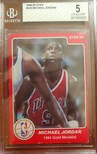 1984-85 Star, Michael Jordan RC #195,
