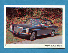 AUTO E MOTO - Figurina-Sticker n. 60 - MERCEDES 240 D -New