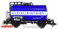 Marklin HO 4642 - Tank Car - Alles Klar Mit Korn