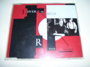 LIVING IN A BOX - ROOM IN YOUR HEART 4tr, CD MAXI 1989