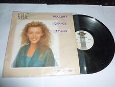 """Kylie-no cambiaría nada-Original 1989 Reino Unido 12"""" SINGLE VINILO"""