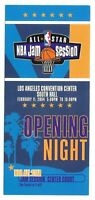 2004 ALL-STAR NBA Jam Session TICKET Los Angeles NELLY LeBron James Wade Bosh