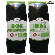 Thorlo Men's Cushion Hiking Crew Sock Large Fit ~ 2 Pack ~ New