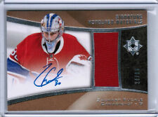 15/16 UD ULTIMATE ZACHARY FUCALE HONOURED HM JERSEY AUTO /85 MONTREAL CANADIENS