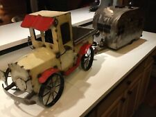 Vintage Large Truck & Camper Hand Made Welded Steel Wheels Roll Made in Mexico