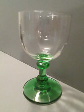 beau verre ancien bicolore